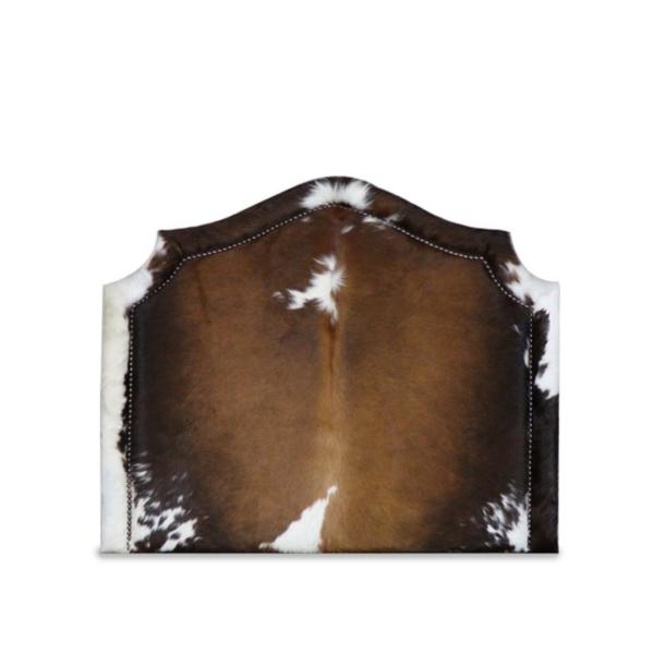 Cowhide Headboard