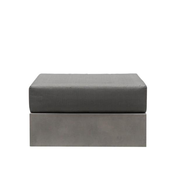 Cube Cocrete Ottoman