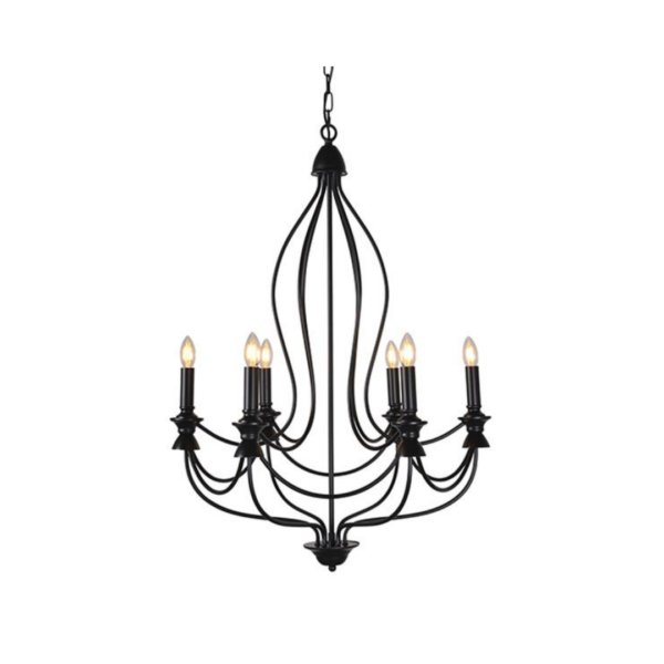 AIMEE IRON CHANDELIER