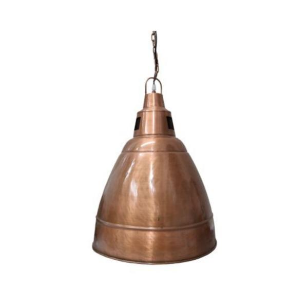 ALEXIA IRON LAMP COPPER FINISH