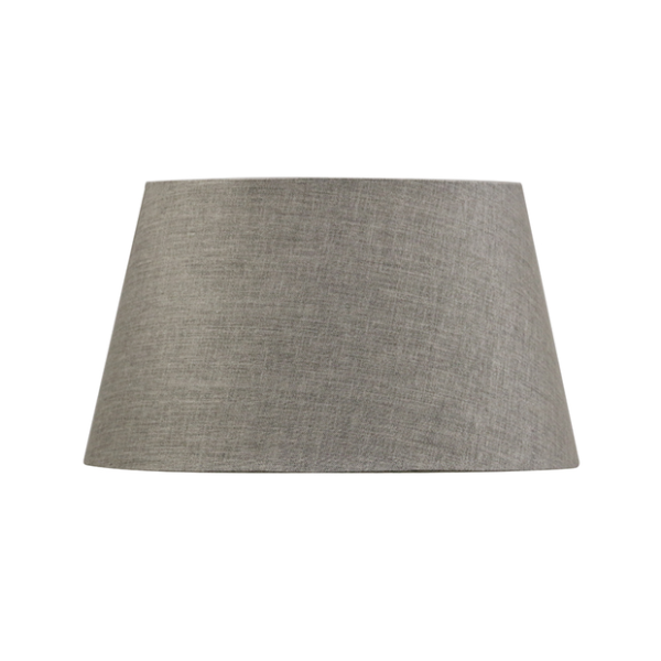 CHARCOAL 41CM TAPERED DRUM LAMPSHADE