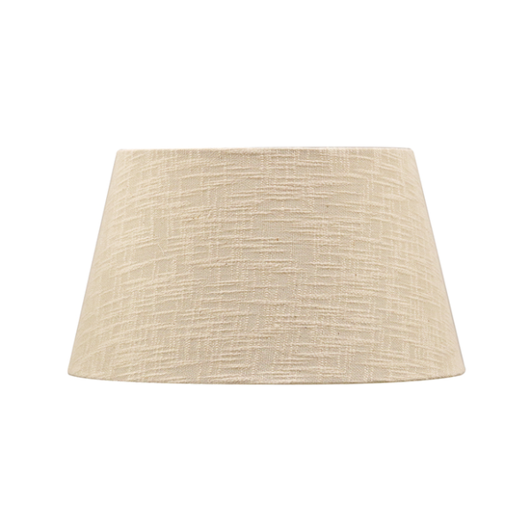 IVORY OPEN WEAVE TAPERED DRUM 41CM (16IN)