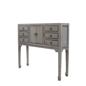 ORIENTAL PAINTED CONSOLE