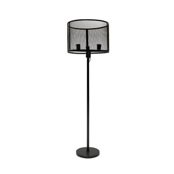 METAL STANDING ROUND LAMP
