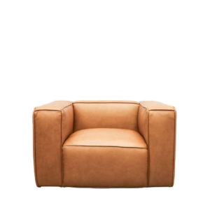 STIRLING LEATHER ARMCHAIR