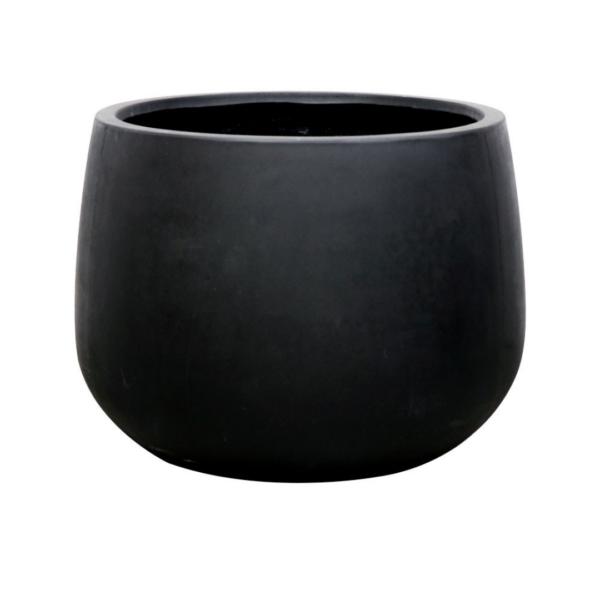 AHURIRI BLACK PLANTER - LARGE