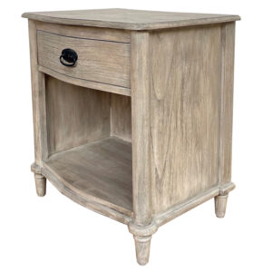 French Bedside 1 Drawer