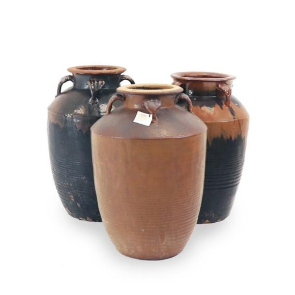 Large Glazed Pots