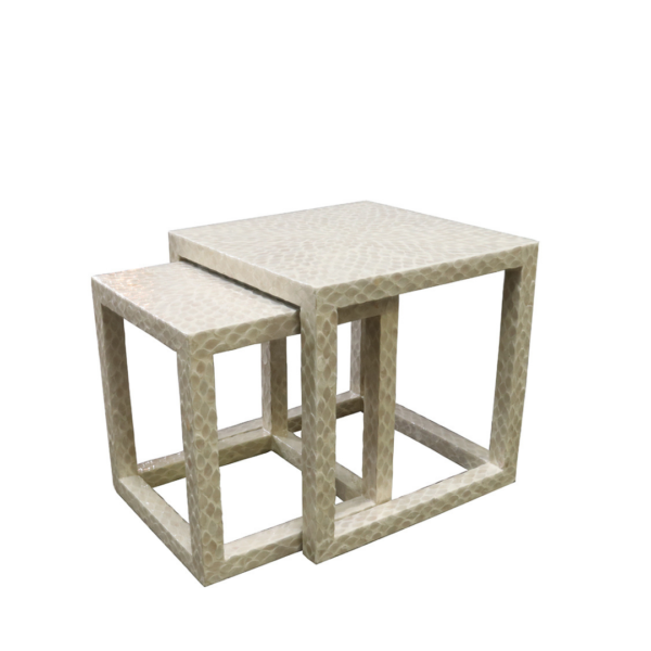 Nesting Tables Mother of Pearl