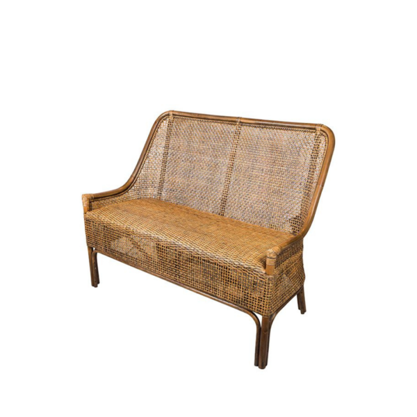 RATTAN TWO SEATER
