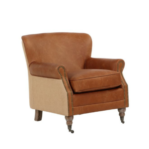 PIERRE LEATHER CHAIR